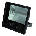 Proyector halogeno con equipo incorporado y casquillo E40-230V.-IP65, Negro. 400W.
