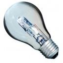 Caja 10 bombillas halógena ahorro consumo tipo incandescente estandard 70W(100W) E27