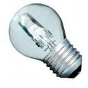 Caja 10 bombillas halógena ahorro consumo tipo incandescente esférica clara 42W(60W) E27