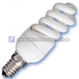 E14 Energiesparlampe Micro Spirale, 11W, 4200K