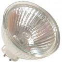 Caja 10 bombillas halógena dicroica ahorro de consumo, 12V. MR16 30W(50W).