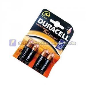 Box 20 Bliester x 4St. Mignon-Batterie Alkaline DURACELL Basic LR06/AA 1,5V
