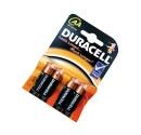 Caja 20 blisters de 4 unidades de pilas alkalinas Basic LR-06 (AA) DURACELL