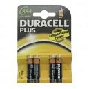 Caja 10 blisters de 4 unidades de pilas alkalinas Plus LR-03 (AAA) DURACELL