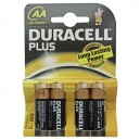 Caja 20 blisters de 4 unidades de pilas alkalinas Plus LR-06 (AA) DURACELL