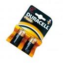 Caja 10 blisters de 2 unidades de pilas alkalinas Plus LR-14 (C) DURACELL