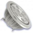 Bombillas LED AR111 G53 12W 3000K cálida