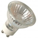 Caja 10 bombillas halógena dicroica ahorro de consumo, 230V. GU10 30W(50W).