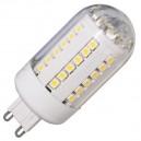 Caja 10 bombillas LED G9 3W 240L 3000K cálida