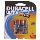Caja 10 blisters de 4 ud. Pila Alcalina LR03 AAA Duracell Ultra
