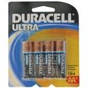 Caja 10 blisters 4 ud. Pila Alcalina LR06 AA Duracell Ultra