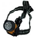 Linterna de cabeza de 17 LED con cintas ajustables