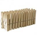 Pack de 24 uds de Pinzas de madera