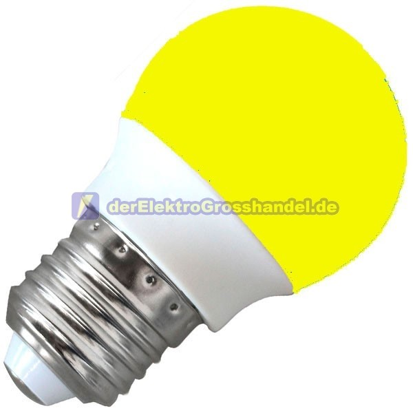 grossh ndler led beleuchtung e27 dekorative led lampe 3w 230v 120 gelb. Black Bedroom Furniture Sets. Home Design Ideas