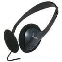 Auricular estéreo de casco de silicona, 54mm 1,2m.Jack 3,5mm Negro.