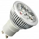 Caja 10 bombillas LED GU10 6W (4x2W) 38º 2700K cálida