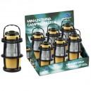 Expositor de 6 Mini-Linternas de camping de 12 Leds
