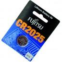 Pila de Lithio CR2025 3 V Fujitsu