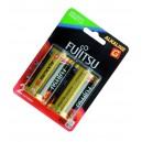 Caja 10 blisters de 2 unidades de pilas alcalinas LR20 / D 1,5 V Fujitsu