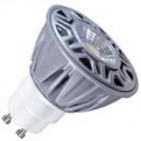 Caja de 10 Lámparas LED COB GU10 de 8W 556 Lm 38º luz cálida