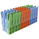 Pack de 24 uds de Pinzas de plástico