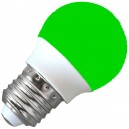 E27 Dekorative LED-Lampe 3W, 230V, 120º, grün