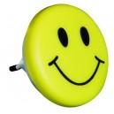 """Luz de noche """"Happy face"""" 0,5W- 230V. Ideal para habitaciones, garajes, escaleras, 7cm. de diametro."""